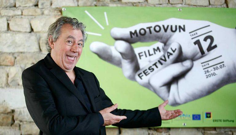 Terry Jones – Monty Python Group – Motovun Maverick 2010