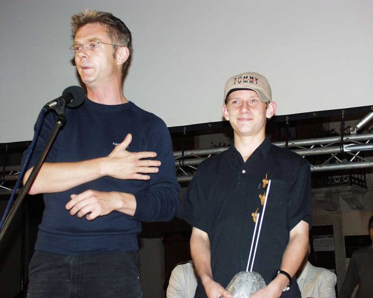 Stephen Daldry i Jamie Bell – Propeller of Motovun 2000