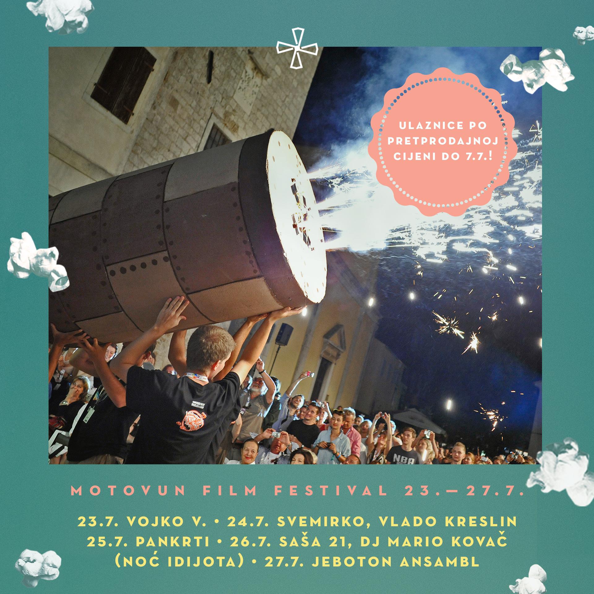 Motovun 2019: Pankrti, Vlado Kreslin i Saša 21 nova imena u glazbenoj ponudi Motovun Film Festivala